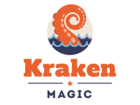 Kraken Magic Logo Design