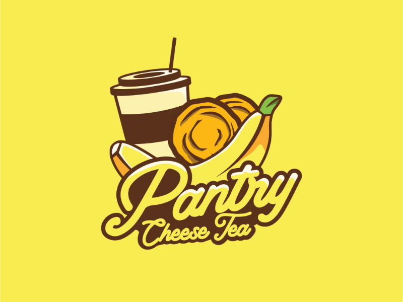 Pantry Cheese Tea adobe illustrator illustration indonesia purwokerto great delicious snack food tea cheese pantry