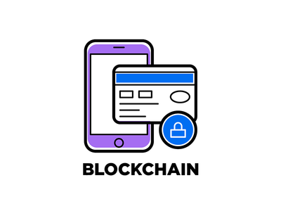 Blockchain icon blockchain
