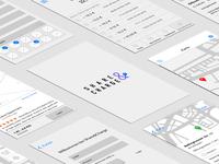 Wireframes - work in progress