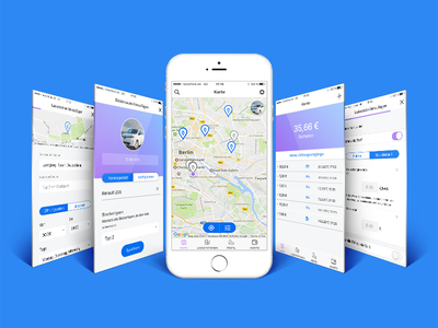 Share&charge app - eCar charging station network electric car charging station app