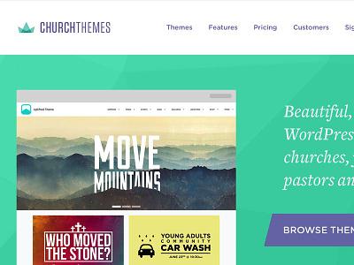 ChurchThemes Concept #1 church themes wordpress ministry