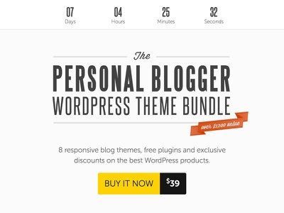 Personal Blogger WordPress Theme Bundle $39 wordpress blog themes bundle