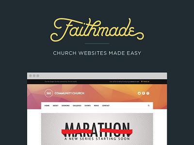 Faithmade church website builder faithmade website co. lift