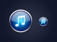 Alternate iTunes 10 Icon