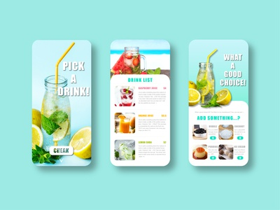 UI practise1——A DRINK STORE