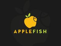 Apple Fish Logo