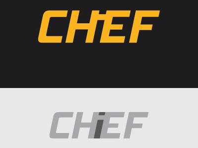 Chief Logo illustration flat minimalist icon future blog character vector letter logo branding typography eyes creative  design logo design brand professional creative