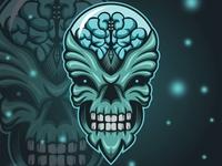 Monster Brain Logo
