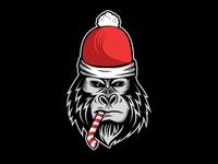 Gorilla Christmas