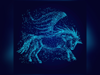 horse particles