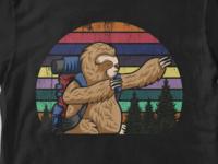 sloth hiking
