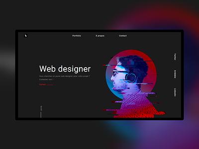 Personal Portfolio javascript css html webdesign portfolio website