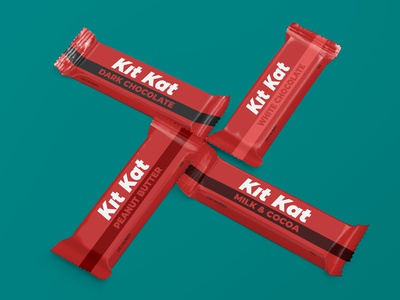 Redesign of Kit Kat's package - Weekly Warm-Up
