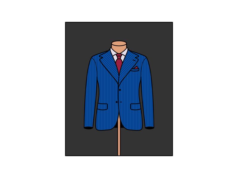 Suit fashion man illustrator illustration elegant suit sartorial