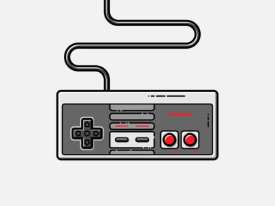 Nintendo NES - Vector Illustration 80s nes video games illustrator nintendo vector illustration graphic design design