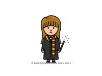 Hermione Granger - Vector Illustration