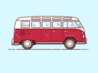 Van - Vector Illustration