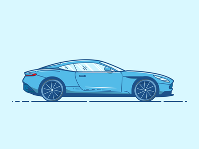 Aston Martin DB11 - Vector Illustration