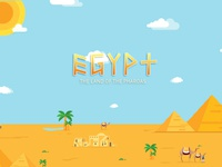 Egypt - land of the Pharoahs