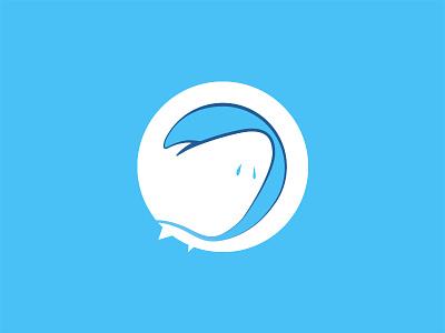 Jabberjaw & Grooveshark radio jabberjaw jaws classic cartoons cartoon network imagination illustration cartoon flat vector design concept simple logo branding identity clean
