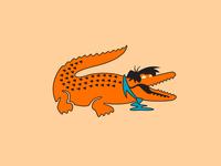Fred Flintstone & Lacoste