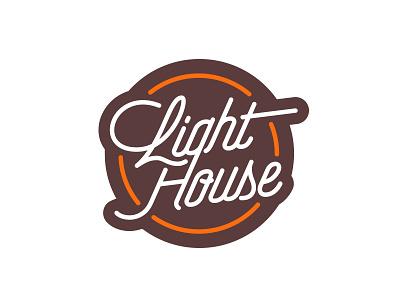Lighthouse monoline logo brand simple logo branding typography identity clean