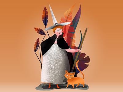Print: Fairy God Halloween Mother