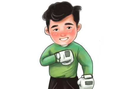 Bui Tien Dung goal keeper of Vietnam