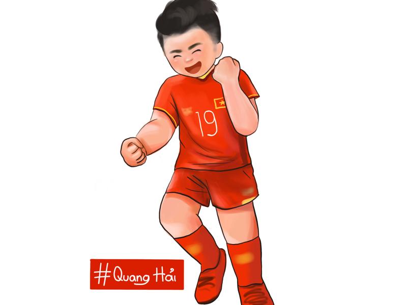 Nguyen Quang Hai 19 illustrator