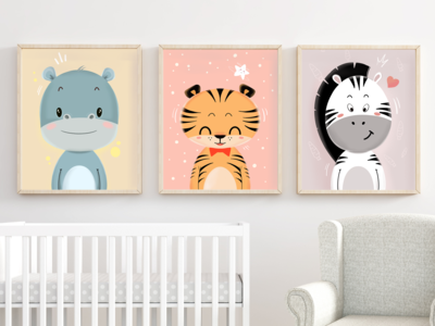 Nursery Cute Animal