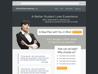 Student Loan Lower Rate Website project