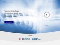 Chiropractic Homepage Concept Design