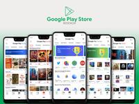 Google Play Store Redesign | Material Design 2
