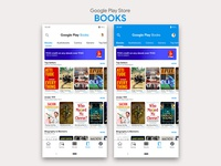 Google Play Store- Books Redesign | Material Design 2