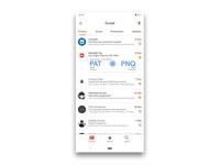 Gmail App Redesign | Material Design 2 Theming
