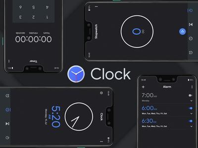 Google Clock app Redesign | Concept Design | Material Design