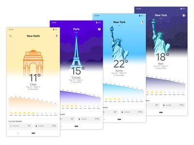 Google Weather Concept app Final