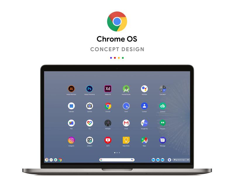 Google Chrome OS Concept Design by Kumar Jitendra on Dribbble