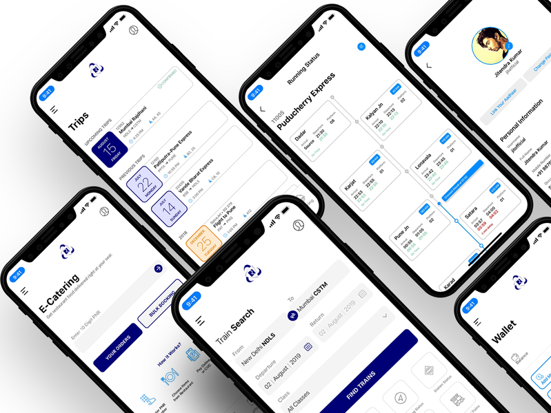Train booking app design train blue branding booking app web typography concept design ios app design app concept ux ui illustration app dashboard app design