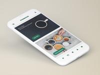 Starbucks Re-Brand - App