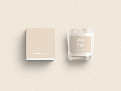 Zephyr Candles modern illustrator photoshop branding brand identity brand box candle pastel typekit typography type text logo design logo product product design design graphic graphic design