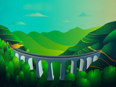 Nine Arches Bridge