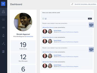 LinkedIn Redesign Beta redesign linkedin redesign user profiles ux ui