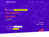 WIP for Founders School Website