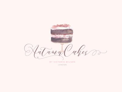 Autumn Cakes Logo Design