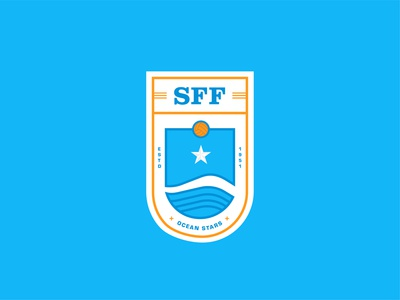 Somalia National Football Team - Redesigned Logo illustration rebrand brand identity visual identity branding design design branding typography logo designer logo