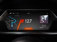 Car Dashboard Concept