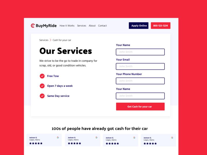 BuyMyRide Quote Form