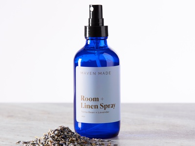Maven Made wellness health packaging design modern typography richmond identity graphic design elements branding
